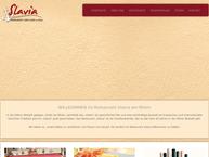 Website von Restaurant Slavia