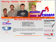 Website von Schnapp Norbert Heiz.bau