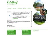 Website von Gaststätte Edelhof