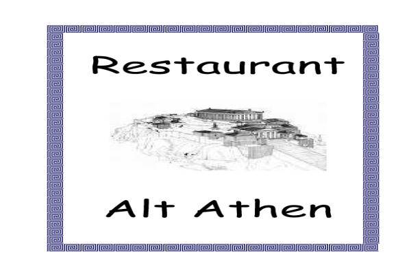 restaurant alt athen italienische restaurants in augsburg innenstadt ffnungszeiten. Black Bedroom Furniture Sets. Home Design Ideas