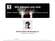 Website von REB Richter Elektro Biedenkopf e.K.