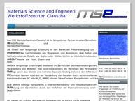Website von Zfw - Zentrum Für Funktionswerkstoffe gGmbH