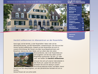 Website von Altenzentrum an der Rosenhöhe GfdE