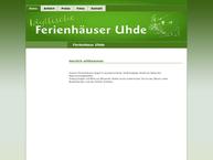 Website von Ferienhäuser Uhde