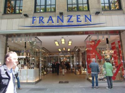 Franzen Düsseldorf franzen porzellanhaus uhren einzelhandel in düsseldorf stadtmitte