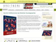 Website von Breitner GmbH Kunstgewerbe