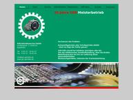 Website von GSR Getriebeservice GmbH