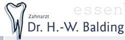 Dr.med.dent. Hans-Werner Balding Zahnarzt