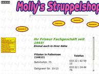 Website von Mollys Struppelshop - Falkensee