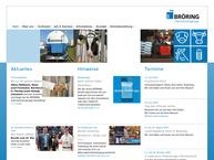 Website von H. Broering GmbH & Co. KG