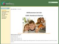 Website von Gemeinnützige Wohnungsgenossenschaft Hombruch-Barop E.g.