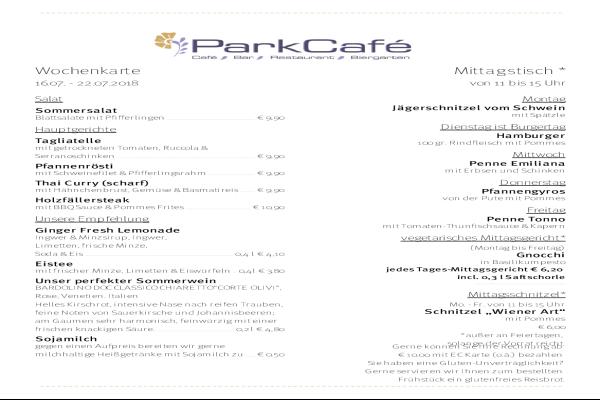 Parkcafé Freising Bars Bistros Cafes Domberg
