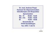 Website von Finger A. Dr.med.