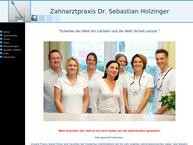 Website von Praxis Dr. Sebastian Holzinger