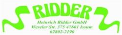 Ridder GmbH, Heinrich Imbiß- U. Gastst.großhdl.