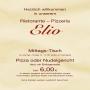 Pizzeria Elio - Restaurant Speisekarte