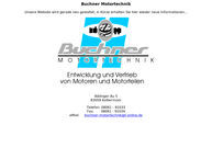 Website von Buchner Motortechnik
