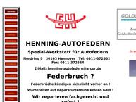 Website von Henning
