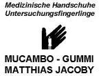 Mucambo-Gummi Matthias Jacoby Handschuhe