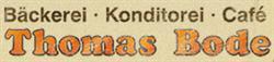 Bode Thomas Bäckerei-Konditorei-Cafe