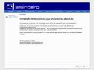 Website von Fritz Steinberg GmbH & Co.