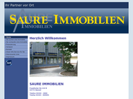 Website von Saure-Immobilien