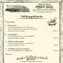 Bauernstube Schenkenküche - Mittagskarte