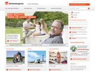 Website von Württembergische Versicherung Markgröningen, Generalagentur Helmut Scharf