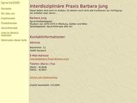 Website von Jung Barbara Sprachtherapie-Praxis