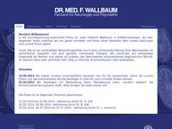 Website von Wallbaum F. Dr.med. Arzt Für Neurologie U. Psychiatrie