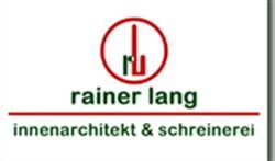 Rainer Lang, Innenarchitekt + Schreinerei