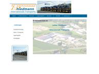 Website von Thiedmann Lothar Spedition - Transporte