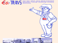 Website von Edi-Trans GmbH