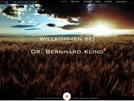 Website von Kling Bernhard Dr. Naturheilverfahren, Akupunktur