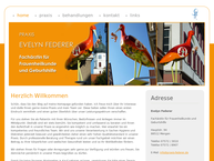 Website von Evelyn Federer