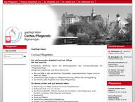 Website von Conrad-Gröber-Haus Altenpflegeheim