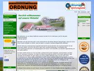 Website von Ordnung Günter Landmasch. Kommunal-U.gartentechnik Verkauf U. Service