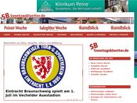 Website von Neue Peiner Woche