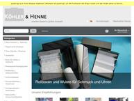 Website von Köhler & Henne Inh. Wolfgang Pfeil e.K.