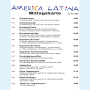 Restaurant America Latina - Mittagskarte