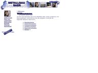 Website von Metallbau Baer