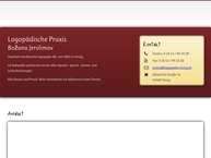 Website von Logopädie Sinzig - Logopädische Praxis Božana Jerolimov