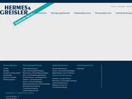 Website von Hermes & Greisler