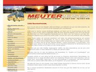 Website von Meuter Reisen
