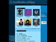 Website von Musikladen Philippi Peter