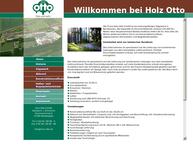 Website von Holz - Otto