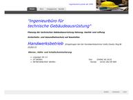 Website von Ingenieurbüro Janek Planungsbüro für Gebäudeausrüstung