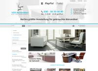 Website von VZS Büromöbel OHG