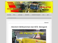 Website von Kfz -Gebr. Bongard Abschleppdienst