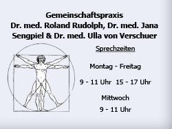 Gemeinschaftspraxis Dr. Med. Roland Rudolph, Dr. Med. Jana Sengpiel & Dr. Med. Ulla von Verschuer